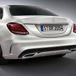 2015 Mercedes C Class AMG Line rear