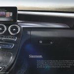 2015 Mercedes C-Class brochure dashboard