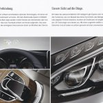 2015 Mercedes C-Class brochure features