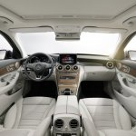 2015 Mercedes C-Class dashboard Exclusive Line