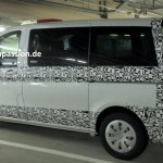 2015 Mercedes V Class Spied side