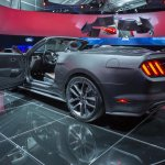 2015 Mustang Convertible live rear quarter