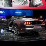2015 Mustang Convertible live rear