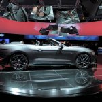 2015 Mustang Convertible live side shot