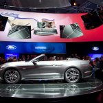2015 Mustang Convertible live side
