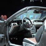 2015 Mustang Convertible live steering wheel