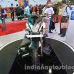 Bajaj Pulsar 200NS front Metallic white and Ebony black dual tone colour