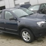 Dacia Duster Pickup spied front
