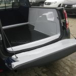 Dacia Duster Pickup spied loading bay 2