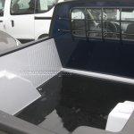 Dacia Duster Pickup spied loading bay