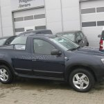 Dacia Duster pickup spied