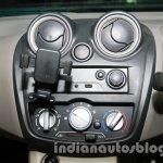 Datsun Go Delhi Roadshow center console