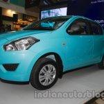 Datsun Go Delhi Roadshow front quarter