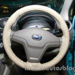 Datsun Go Delhi Roadshow steering