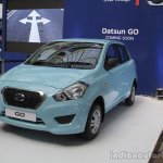 Datsun Go front quarter from Mumbai roadshow