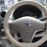 Datsun Go steering wheel from Mumbai roadshow