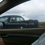 Hyundai Grand i10 Sedan spied C Pillar