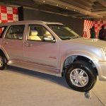India-made Isuzu MU-7 front three quarters