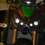 Kawasaki Z1000 headlight on India launch
