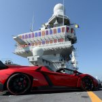 Lamborghini Veneno Roadster World Premiere side