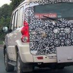 Mahindra Scorpio facelift Chennai exhaust