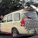 Mahindra Scorpio facelift Chennai rear quarter