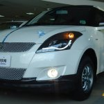 Maruti Swift Platinum Edition LED lights