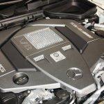 Mercedes-Benz SLK55 AMG engine