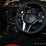 Mercedes-Benz SLK55 AMG steering wheel