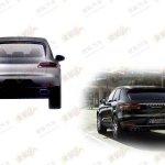 Porsche Macan base model rear
