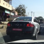 Refreshed Fiat Linea spotted rear