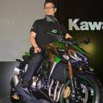 Shigeto Nishikawa, Deputy Managing Director India Kawasaki Motors Pvt Ltd on the 2014 Kawasaki Z1000