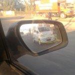 Spied Tata Nano Diesel front