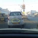 Spied Tata Nano Diesel rear 2
