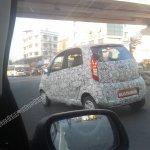 Spied Tata Nano Diesel rear quarter