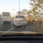 Spied Tata Nano Diesel rear view