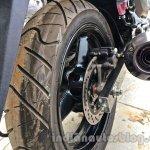 Suzuki Inazuma GW250 dealer spied rear disc brake