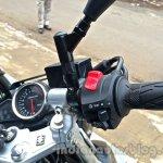 Suzuki Inazuma GW250 dealer spied switches
