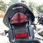 Suzuki Inazuma GW250 dealer spied taillight