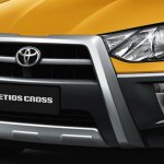Toyota Etios Cross in Argentina front bumper