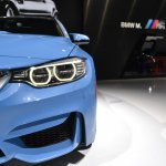 2014 BMW M3 at 2014 NAIAS air dam