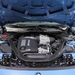 2014 BMW M3 at 2014 NAIAS engine 2