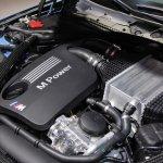 2014 BMW M3 at 2014 NAIAS engine