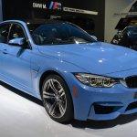 2014 BMW M3 at 2014 NAIAS front three quarter