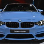 2014 BMW M3 at 2014 NAIAS grille