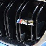 2014 BMW M3 at 2014 NAIAS logo