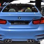2014 BMW M3 at 2014 NAIAS rear 2