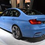 2014 BMW M3 at 2014 NAIAS rear quarter