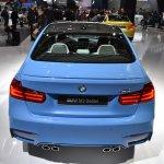 2014 BMW M3 at 2014 NAIAS rear top