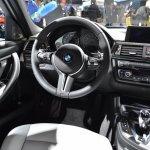 2014 BMW M3 at 2014 NAIAS steering 2